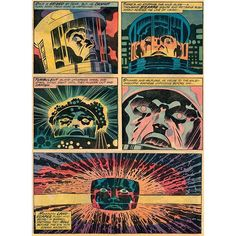 space adventures thanks to scifi_art Repost. The Stargate sequence from 2001 A Space Odyssey according to Jack Kirby. From the Marvel Treasury Special 2001 A Space Odyssey written and drawn by Jack Kirby. Comic Book Pages, Comic Book Artists, Comic Artist, Comic Books Art, Stargate, Tolkien, Robert E Howard, Jack Kirby Art, Jack King