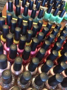 All these polishes want a home! Many are the last of their kind! $8.00 each www.myworldsparkles.com