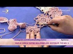 Derya Baykal'la Gülümse: Yazlık Hırka Yapımı - YouTube