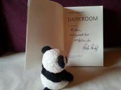 Widmung und Autogramm, signiertes Buch, Darkroom, Sophie Andresky, Autorin