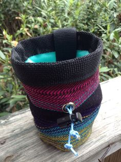Chalk Bag for Climbing by bryonymacintyre on Etsy, $18.00