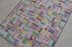 modern baby quilt