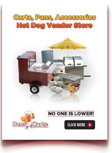 hot dog vendor accessory store