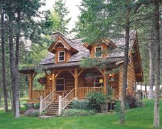 Our Favorite Exteriors   News   Log Cabin Homes