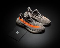 be042b89b898e adidas Yeezy 350 Boost V2 Beluga Steel Grey Beluga-Solar Red For Sale
