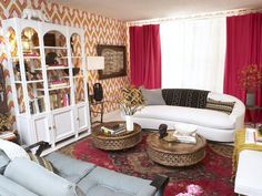 Contemporary | Living Rooms | Pangaea : Designer Portfolio : HGTV - Home & Garden Television