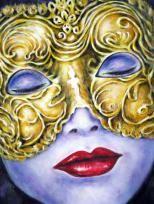 """""""Ungekannte Schöne"""", Acryl, 60 x 60 cm Halloween Face Makeup, Nice Asses"""