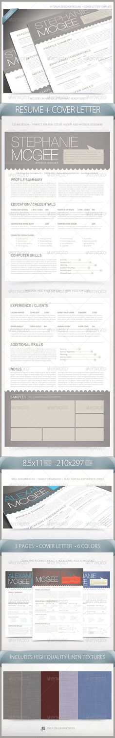 Interior Design Resume Template - Interior Design Resume Template - resume for interior designer