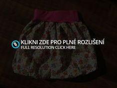 Balonová sukně - střih + fotonávod   LUCIE HROMADOVÁ - LOOCIE-H