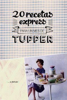 20 ideas para un mes de Tupperware | Plan de chicas