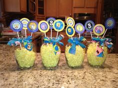 spongebob party blogspot | ... the room. The room was full of yellow balloons and SpongeBob balloons