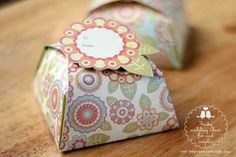 Pretty Homemade Gift Boxes: templates & tutorials |