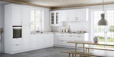 Gillar du den lantliga stilen när det gäller kök? Då är vinkelköket i Rimini-serien från Kvik den rätta kökslösningen för dig. Klicka här och se mer...