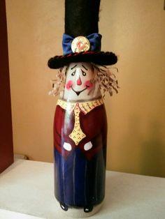 OLD GENT WINE BOTTLE