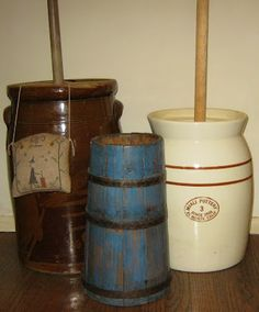 Never used a wooden churn but I sure did a lot with a crock churn.