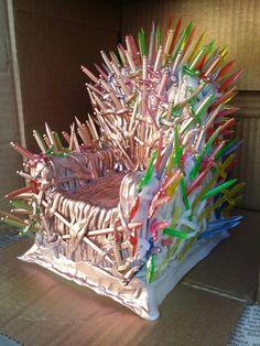 Trono de Ferro de biscuit - Game of Thrones