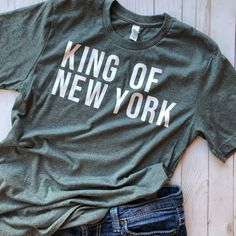 King of New York Newsies Adult Unisex T-Shirt I Want, Theatre Nerds, Musical Theatre, Newsies Live, Music Sing, Disney Shirts, Musicals, Cute Outfits, Trending Outfits