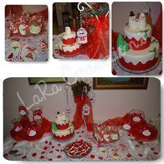 Confettata sposa tema natalizio