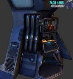 New Sci Fi Console Kajigger - Polycount Forum