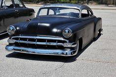 A slammed 1954 Chevy...