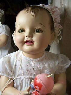 28 Composition Cloth Lovums Doll Effanbee Antique Boom Boom Mccutikins Composite | eBay