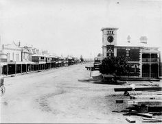 Smith St, Kempsey in 1899.