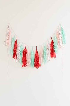 Studio Mucci Holiday Love Fringe Banner