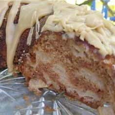 German Apple Cake (1) From: All Recipes (2) Webpage has a convenient Pin It Button