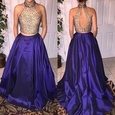 Sherri Hill two piece prom dress❗️❗️❗️ Size 8 with a little bit of altering in the skirt but can be taken out. No hemming, only worn once! Perfect condition! Sherri Hill Dresses