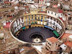 Round Building, Building A House, Destinations, Circle Pattern, Modern Materials, Science And Nature, Plaza, Interior And Exterior, Skyline
