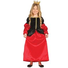 Disfraz de Princesa Medieval Infantil. Para niñas de 5 a 12 años. Comprar en