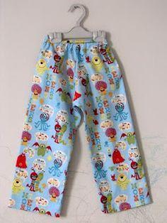 Tutorial: Faça uma Calça de Pijama (sem molde)
