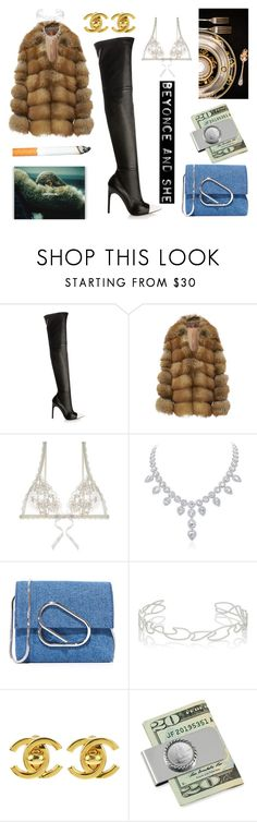 """""""That's mass appeal."""" by thaijohnson ❤ liked on Polyvore featuring Givenchy, Jonathan Simkhai, Hanky Panky, 3.1 Phillip Lim, Repossi, Chanel and American Coin Treasures"""