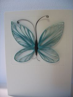 Quilling - butterfly - bjl