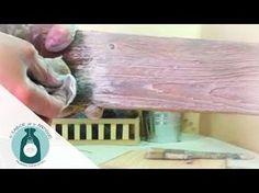 Taller de pátinas acrílicas   El Sabor de lo Antiguo - YouTube