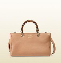 Gucci - bamboo shopper leather tote 323660A7M0K5812