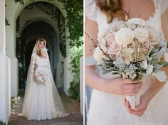 Blush and white bouquet with succulent accents Phoenix Bride and Groom, Cameron + Kelly Studio, Imoni Events, Table Tops Etc, Page and Mason Invitations, Wildflower Linens, Classic Party Rentals #wedding #bouquet #succulent