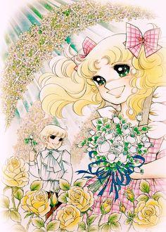 Candy and Antony Browm by Yumiko Igarashi color sleeve ✤   キャンディキャンディ• concept…