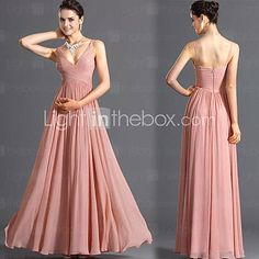 Women's Sleeveless Floor-length Dress