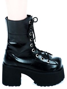 Demonia Ranger Boots | Dolls Kill