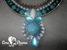 Maxi colar Blue Dayse