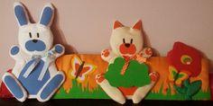 Decorazione da parete per cameretta personalizzabile col nome del vostro bambino handmade