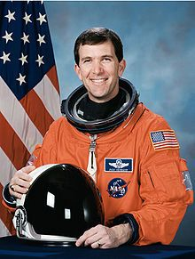 Rick Husband, astronaut; Amarillo, TX. Killed in space shuttle Columbia, 2003. (Can't believe it's been that long. I remember it like yesterday, and hearing his amazing wife speak at the Amarillo Prayer Breakfast ... )