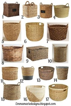 Adding Stylish Storage to the Bathroom with Baskets! See the inspiration over at… Adding Stylish Storage to the Bathroom with Baskets! See the inspiration over at… – Storage and Organization Diy Crafts To Sell, Home Crafts, Easy Crafts, Home Decor Baskets, Basket Decoration, Baskets For Storage, Baskets For Plants, Wicker Baskets, Rustic Baskets