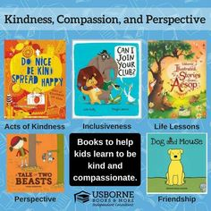 Usborne Books & More - Kindness, Compassion and Perspective books! https://g6796.myubam.com/p/6131/can-i-join-your-club