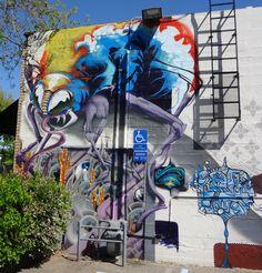 Unusual Street Art // Unique Murals from Around the World #streetart #uniquemurals #urbanart #streetartist #urbanartist