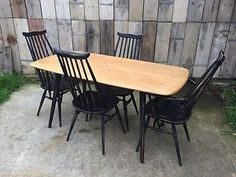 ERCOL-TABLE-AND-GOLDSMITH-CHAIRS-COUNTRY-SHABBY-CHIC-BLACK-HIGH-BACK-300x225.jpg…