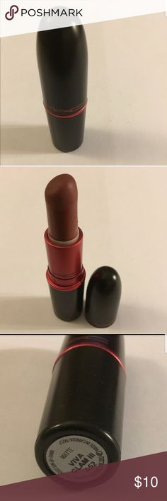 M.A.C Matte Lipstick M.A.C Matte Lipstick Used. Full of color and plenty more life left !!! This needs a new home !!!! I have so many of them !!! Don't be afraid to make your own brand of beautiful!!! MAC Cosmetics Makeup Lipstick
