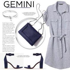 Gemini Style #146 by vbasianioti on Polyvore featuring Banana Republic, Ann Taylor, ChloBo, 3.1 Phillip Lim, fashionhoroscope and stylehoroscope