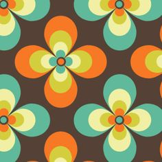 vintage prints - like the print, but in different colors.